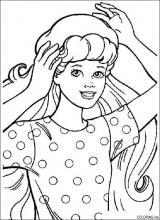barbie coloring pages dresser | 3996 coloring pages - Coloring.me
