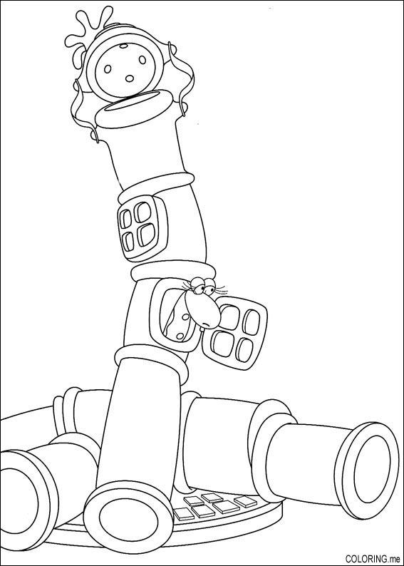 coloring pages of a pipe - photo #5