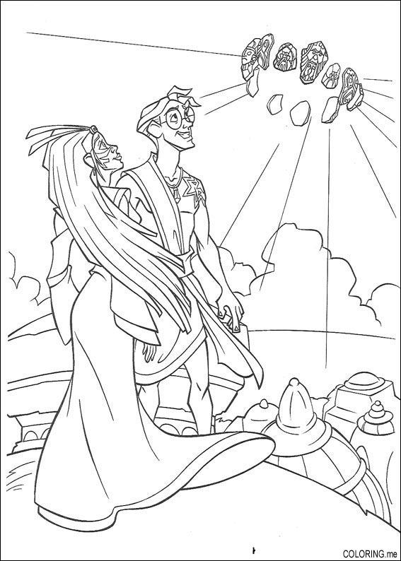 Coloring page Atlantis The Lost