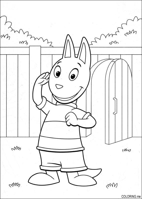 the backyardigans coloring pages free - photo#39