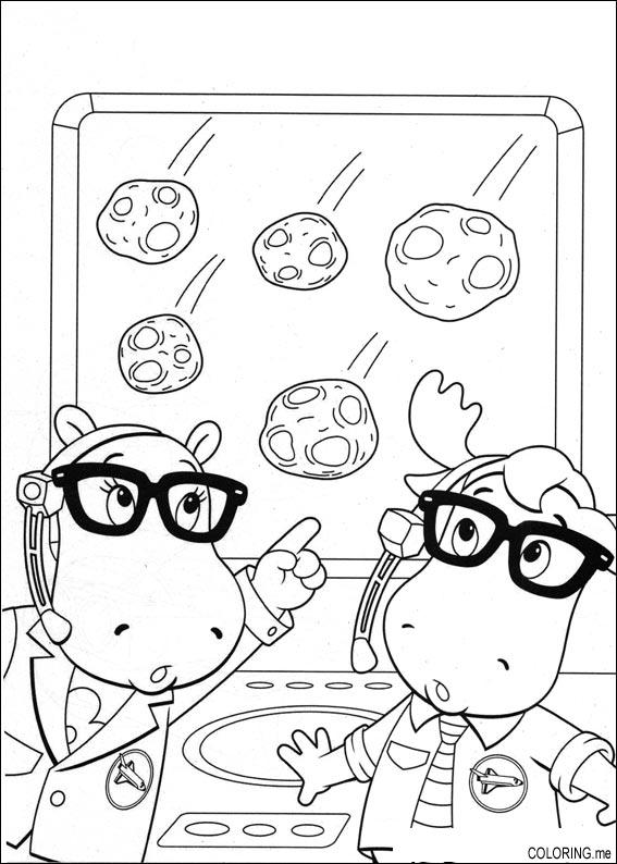 meteor and frinds coloring pages - photo#16