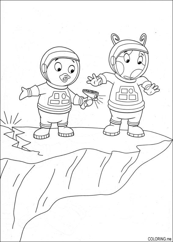 Free Printable Backyardigans Coloring Pages For Kids | Malvorlagen ... | 794x567