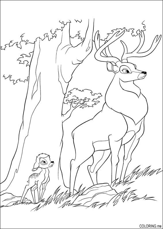 Bambi 2 Coloring Pages
