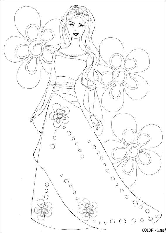 Pics Of Flower Coloring Pages