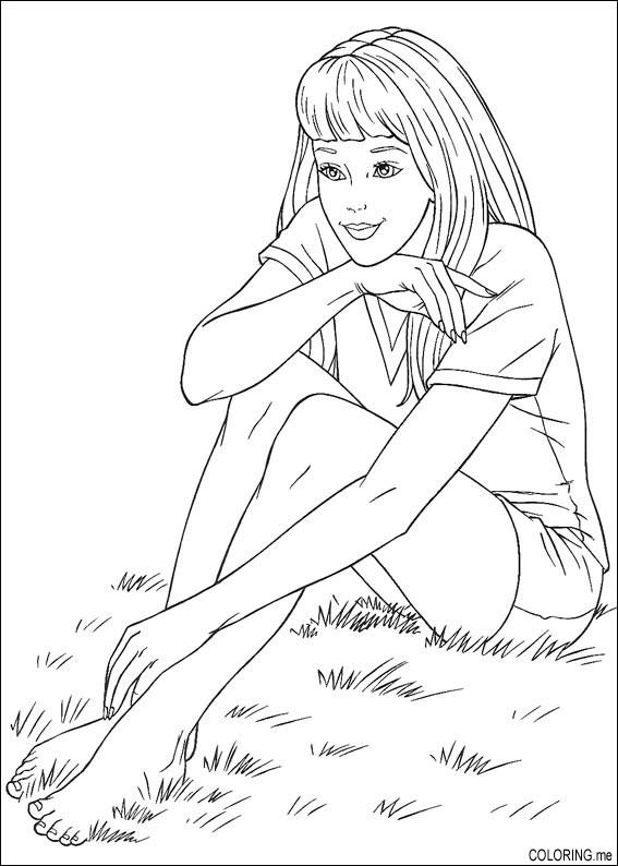 Free Coloring Pages Of Grass