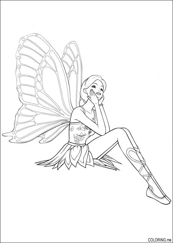 earth fairy coloring pages - photo#31