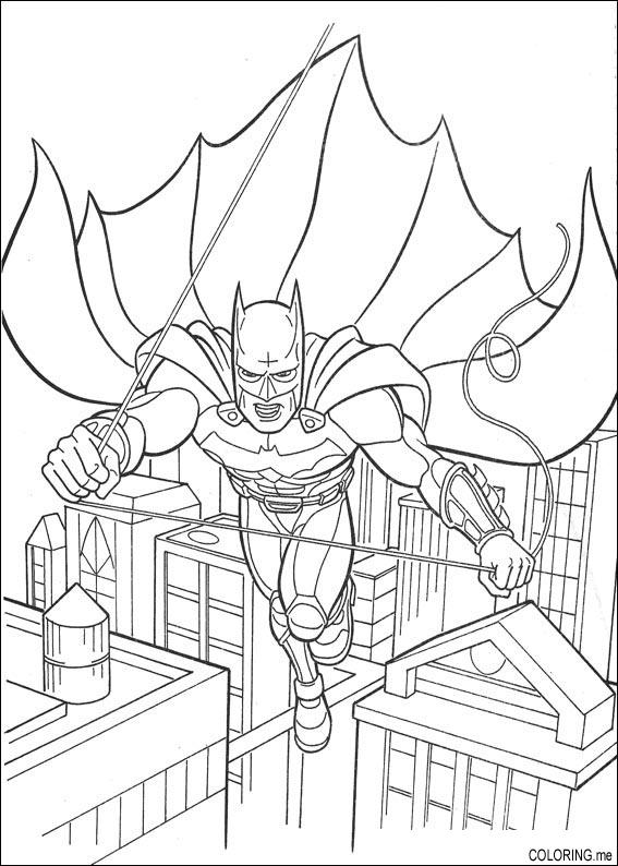 gotham city coloring pages - photo#4