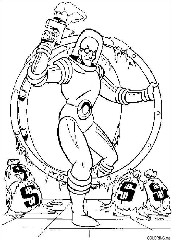 free iceman coloring pages - photo#3