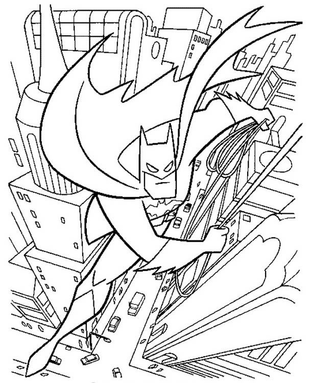 gotham city coloring pages - photo#8