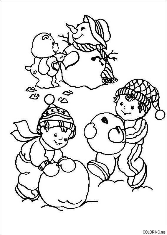 snow bears coloring pages - photo#12