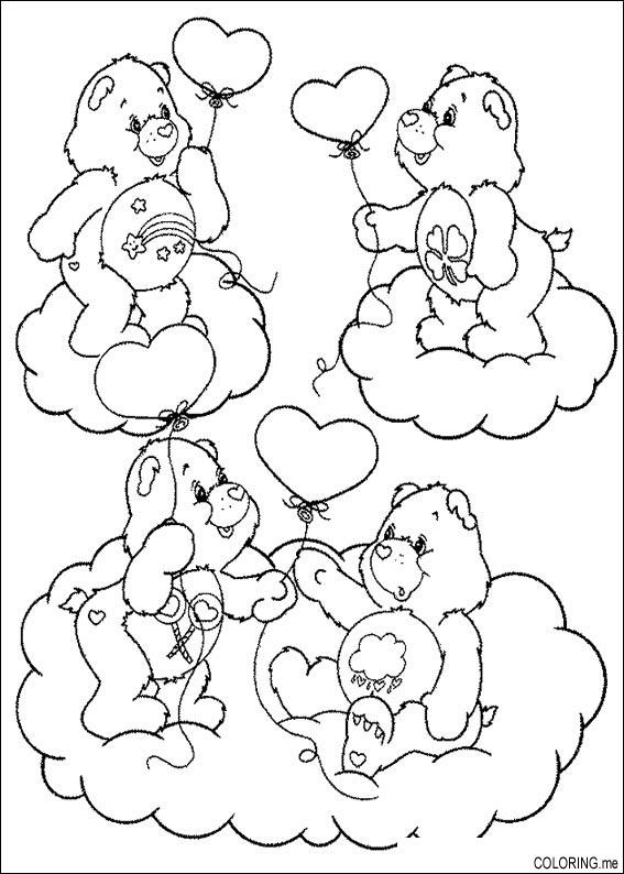 wish bear coloring pages - photo#39