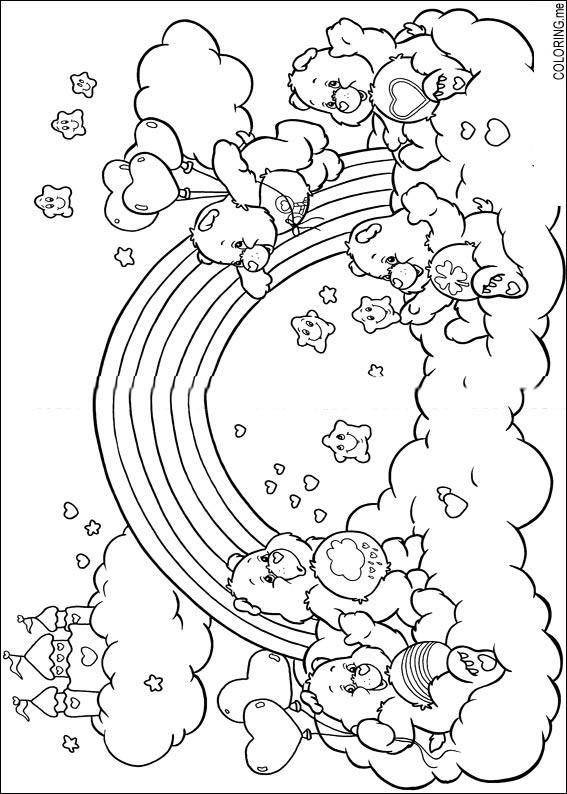the care bears coloring pages - photo#13