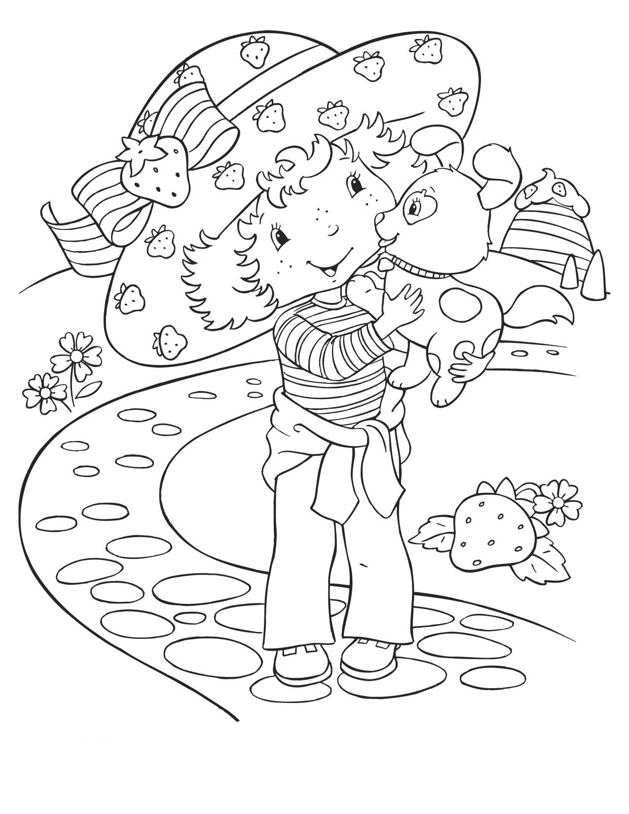pupcake the dog coloring pages - photo#21