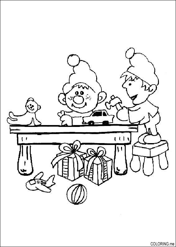 buddy the elf coloring pages - photo#11
