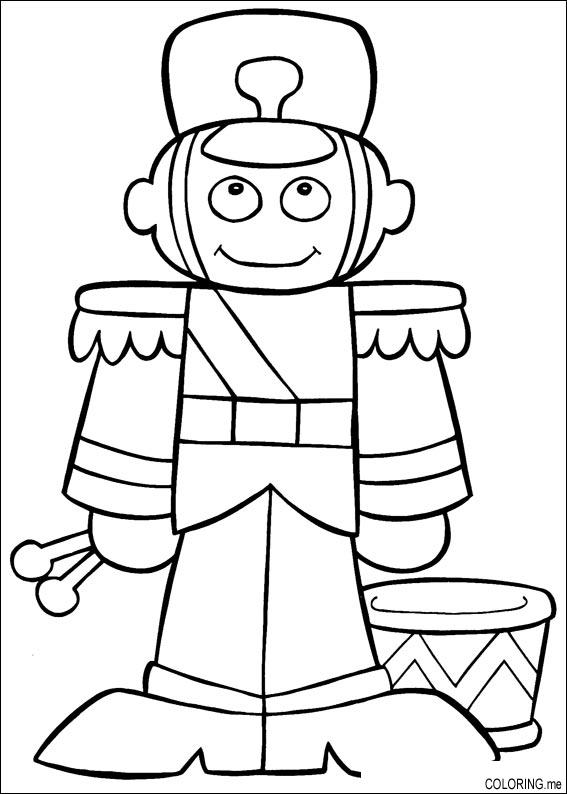 coloring pages of toy soldier - photo#13