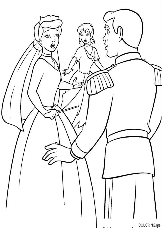 Cinderella printable coloring pages - timeless-miracle.com | 794x567