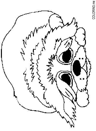 Coloring page poor little dog for Little puppy coloring pages