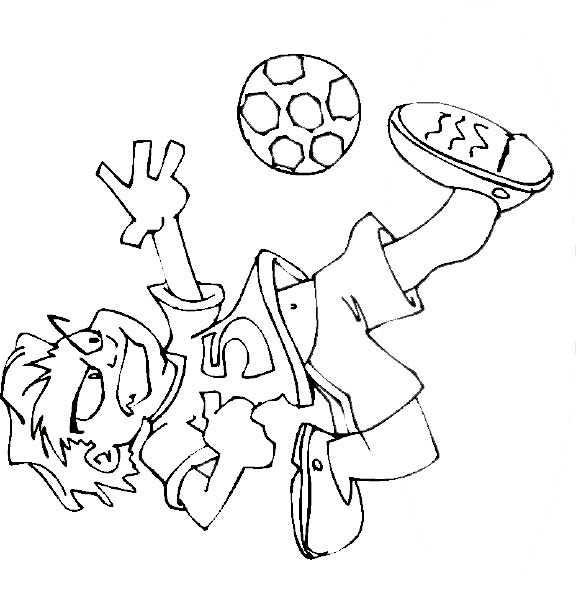 field goal coloring pages - photo#18