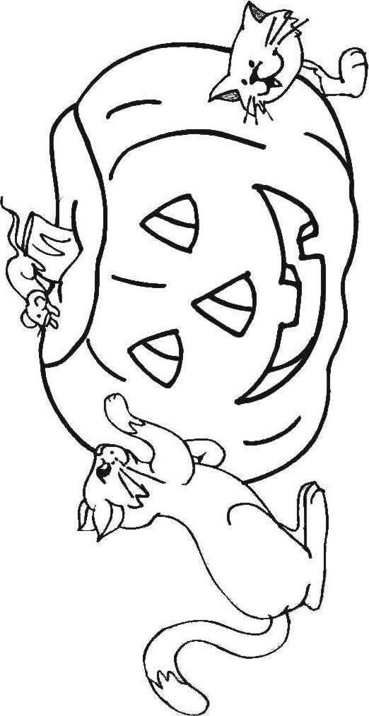 faceless pumpkin coloring pages - photo#48